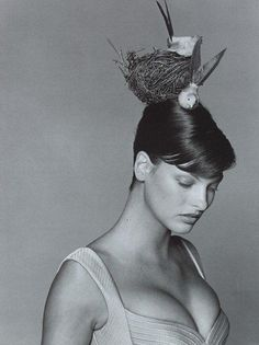 Atelier Versace Fall/Winter 94.95 (Ad Campaign) Photographer: Bruce Weber