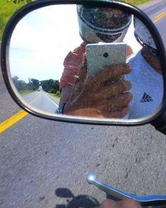 Seguindo pelas estradas da vida...  #Passeio #velocidade #BR #acelera #aventura #emmovimento #motorcycle #road #ride #speed #enjoying #adventure #landscape by eriickfl