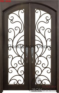 Florida Iron Door Double