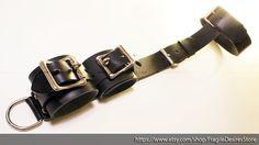 Lockable Harness Neck to Wrist Restraint by FragileDesiresStore