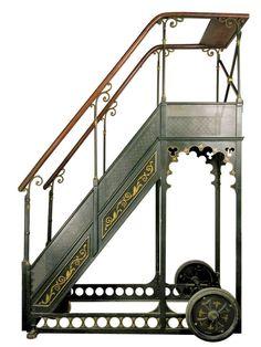 A. Bernard Rolling Library Ladder