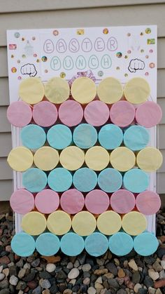 Easter punch game unique easter games to make your easter celebration more fun Easter Bingo, Easter Puzzles, Easter Party Games, Easter Activities For Kids, Easter Hunt, Easter Ideas For Kids, Easter Birthday Party, Birthday Party Games, Easter 2020