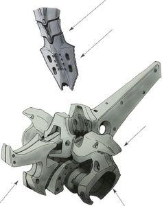 Internal Structure of Mortar Headd