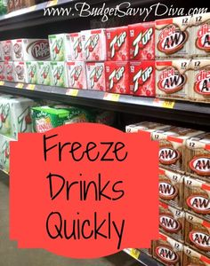 Freeze Drinks Quickly