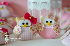Sonhos de Mel 'ੴ - Crafts em feltro e tecido: °°Mais corujinhas...