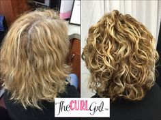 She didn't realize how amazing her curls were until she had the right cut and styling combo