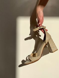 Block heel sandal, timeless classic style made to last for seasons to come. Shop Independant. Timeless Classic, Classic Style, Block Heels, Nude, Beige, Sandals, Shopping, Collection, Shoes Sandals