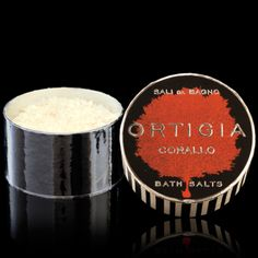 DATCHA - ORTIGIA 'Coral Shell' Bath Salt
