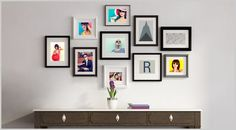 Encadrement galerie photo passe-partout personnalisé haut de gamme - Cadopix