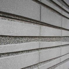 Find out all of the information about the Hering Bau GmbH + Co. KG product: panel cladding WASHED SURFACES. Concrete Cladding, Precast Concrete Panels, Exposed Aggregate Concrete, Concrete Texture, Stone Cladding, Concrete Wall, Stone Feature Wall, Concrete Finishes, Wall Finishes
