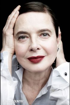 Isabella Rossellini is an ageless beauty