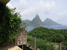 www.cosmopolitantravels.com Jade Mountain, Caribbean, River, Mountains, World, Building, Outdoor, Outdoors, Buildings