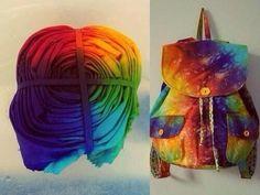 tye dye your backpack!