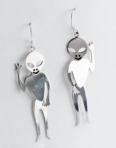 Hey, I found this really awesome Etsy listing at https://www.etsy.com/listing/125519731/friendly-alien-earrings