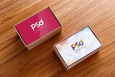 Business Card Box Mockup Free PSD | PSD Graphics
