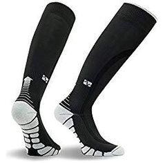 d1a5687fc Alexsix Calcetines de compresión Hombres Mujeres Running Fútbol Ciclismo  Medias de esquí Soporte ortopédico