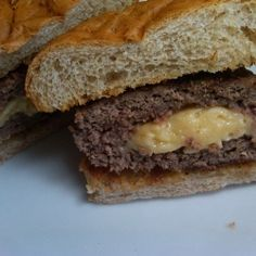 Brie Hamburgers recipe