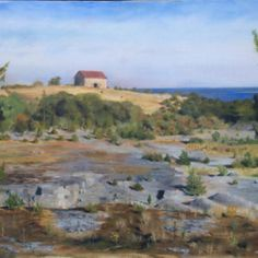"Carl Ahlman: ""Maisema""; http://www.galleriacontempo.fi/carl-ahlman-maisema-maalauksia/"