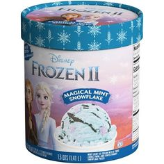 Frozen Magical Mint Snowflake Ice Cream Is Icy Blue and Topped With Purple Sprinkles Disney Frozen Toys, Disney Frozen Birthday, Disney Frozen Nails, Little Girl Toys, Toys For Girls, Snowflake Lights, Snowflakes, Candy Theme Birthday Party, Birthday Cakes