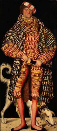 """""""Herzog Heinrich der Fromme (1473-1541)"""", 1514, Lucas Cranach der Ältere (1472-1553)"""