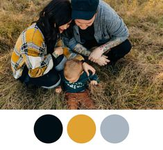 A pop of yellow with neutrals and a mix of textures // A photographer's tips & tricks on how to choose an outfit for your family's portrait session Fall Family Outfits, Family Portraits, Sling Backpack, What To Wear, I Am Awesome, Pop, Yellow, Inspiration, Bags