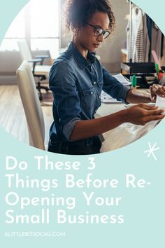 It's been a tough few months for anyone that runs a small business. You need to spend a lot of time promoting your business's re-opening as often as possible. Here are 3 things you need to do before re-opening your small business