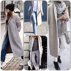 Street Style: Grey Jackets/Coats! On the blog www.starinmoi.com #StarInMoi