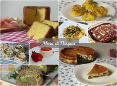 Menu per il pranzo di Pasqua 2016, ricette