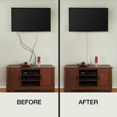 Flat Screen TV Cord Cover-A31-KW - The Home Depot