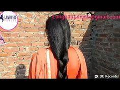Loose Braids, Braids For Long Hair, Big Bun, Long Hair Video, Hair Videos, Bun Hairstyles, Rapunzel, Long Hair Styles, Youtube