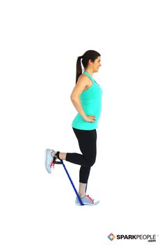 Single+Leg+Hamstring+Curls+with+Band+Exercise+Demonstration+via+@SparkPeople