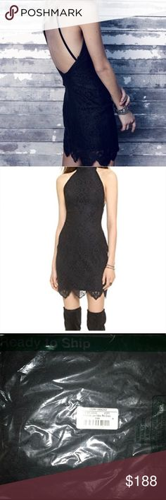 🆕 FL&L 'Take a Holiday' black halter dress size M NWT For Love & Lemons Black Lace formfitting 'Take a Holiday' halter dress. Size Medium which is equal to a size 4-6 for this brand. Scalloped eyelash hem. Button back and hidden side zip closure. Lined. Fabric Content: Lace; shell is a cotton/nylon blend. Dry clean only. Please view all photos and ask any questions you may have prior to purchasing 💞  ❌No Trades❌  ⭐️Bundle & Save⭐️ For Love And Lemons Dresses Mini