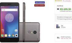 "Smartphone Lenovo Vibe K6 32GB 4G Dual Grafite Android 6.0 Câmera 13MP Tela 5"" << R$ 69990 >>"