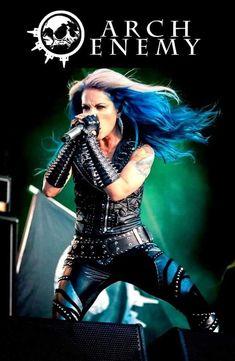 Heavy Metal Girl, Heavy Metal Music, Female Guitarist, Female Singers, Witcher Wallpaper, Ladies Of Metal, Alissa White, Women Of Rock, Arch Enemy