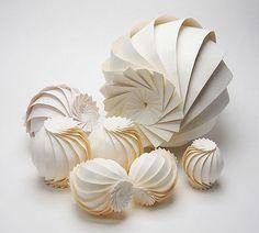 Paper Art –Jun Mitani – 7 origami spheres