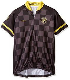 MLS Columbus Crew Womens Primary Short Sleeve Cycling Jersey Large Yellow     Check this awesome product by going to the link at the image. 4be805217