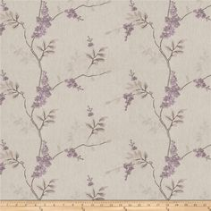 Fabricut Brookdale Linen Blend Lilac from @fabricdotcom  This medium weight 58% Polyester, 18% Linen, 15% Viscose,, 9% Cotton content fabric is perfect for window treatments (draperies, valances, curtains and swags), toss pillows, duvet covers and upholstery.