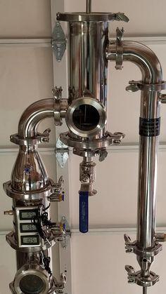 Gin Basket for Flute Column Still — Moonshine Stills & Distillery Equipment