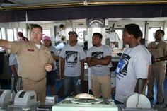 #TexasSeaGrant College Program is helping Camp SeaPort in Port Arthur teach high school students on the upper Texas Gulf coast about maritime careers in their own backyard this summer.