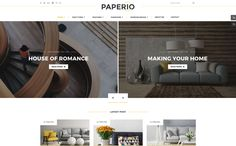 Paperio - Responsive Multipurpose Blog