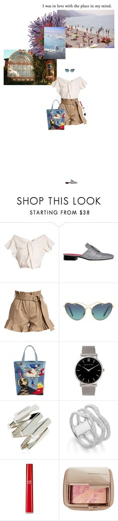 """""""In my mind."""" by rubydracox ❤ liked on Polyvore featuring Rachel Comey, Dorateymur, Cinq à Sept, Miu Miu, Marc Jacobs, Larsson & Jennings, Moutton colleT, Monica Vinader, Armani Beauty and Hourglass Cosmetics"""