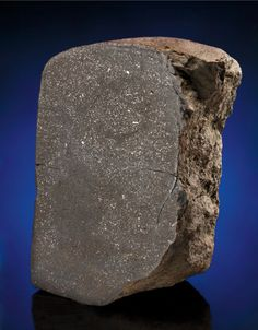 Large End-Piece of a Stony Meteorite Coffeyville, Chondrite - H-5 Montgomery County, Kansas
