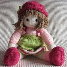 Tu amiguita Micaela, preciosa muñeca hecha a mano en punto