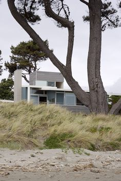 114 Best Dwellings Of New Zealand Images Architecture Details - Spend-hot-summers-and-views-in-a-beach-house-designed-by-parsonson-architects