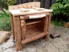 Outdoor play oven Welcome to Nature Play NZ - Nature Play NZ Outdoor Play Kitchen, Mud Kitchen, Natural Play Spaces, Outdoor Classroom, Outdoor Learning, Little People, Garden Inspiration, Kids Playing, Playground