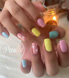 Beauty Nails, Nail Designs, Nail Art, Style, Strands, Finger Nails, Colorful Nails, Beautiful Nail Designs, Polish Nails