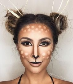 Pretty Deer Makeup - DYF                                                                                                                                                                                 More
