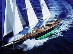 Last but no means least of our we have the Holland Jachtbouw entries of The Superyacht Cup The timeless designed by Hoek Design Naval Architects. Luxury Sailing Yachts, Luxury Yachts For Sale, Sailing Yachts For Sale, Yacht For Sale, Sailing Ships, Castle Project, Yacht Boat, Super Yachts, Motor Yacht