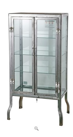 Beau Dulton Doctors Display Cabinet