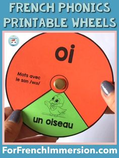 French Phonics Wheels - For French Immersion French Language Lessons, French Language Learning, French Lessons, Spanish Lessons, Spanish Language, German Language, French Teaching Resources, Teaching French, Teaching Spanish